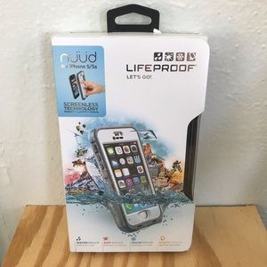 New LIFEPROOF nüüd case for iPhone 5/5s White